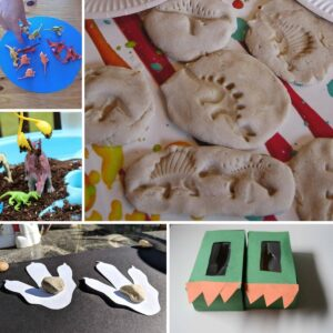 some dinosaur activities and crafts for toddlers and preschoolers on rainy day mum