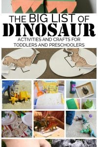 Fun And Easy Dinosaur Crafts And Activities For Toddlers And Preschoolers
