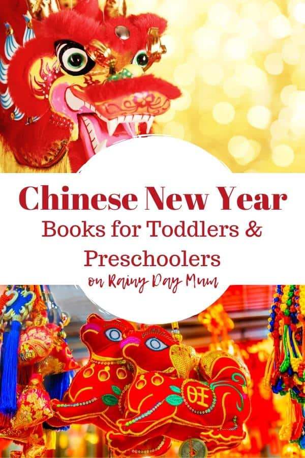 Chinese New Year Book Recommendations for toddlers and preschoolers