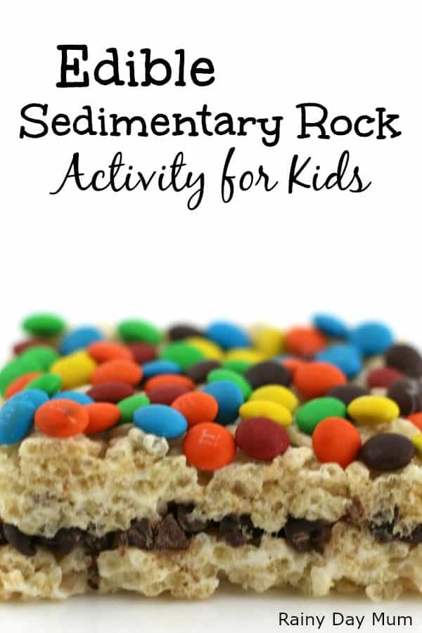 Edible Sedimentary Rock Activity