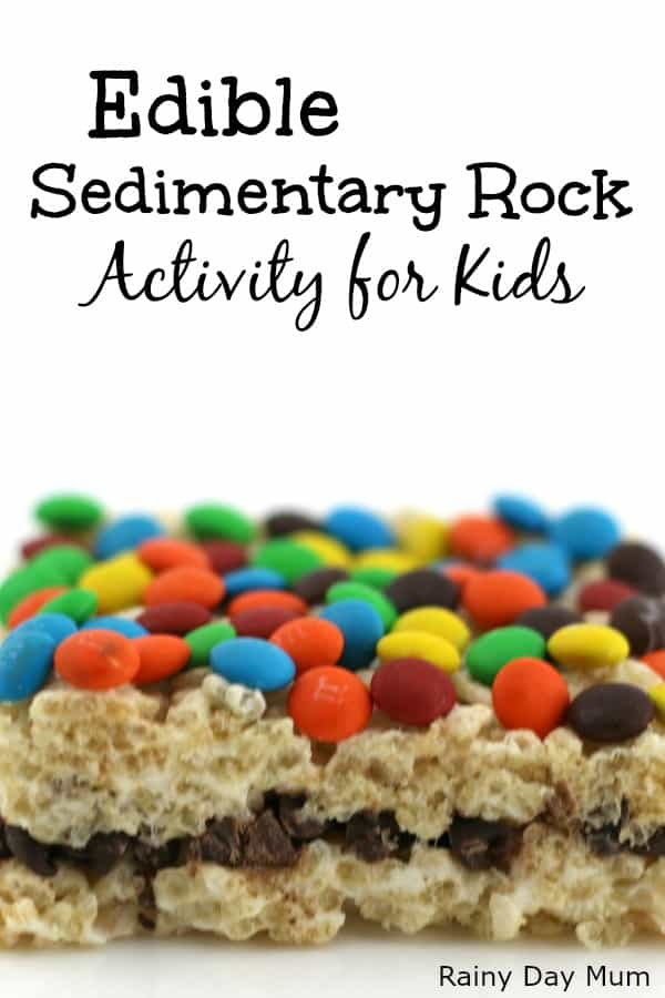 Edible Sedimentary Rock Activity Simple Geology For Kids