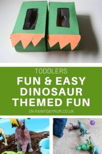 easy and fnu dinosaur crafts and activities for toddlers