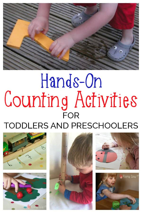 Maths Games for Toddlers and Preschoolers