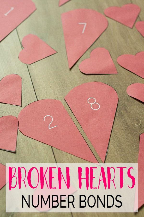 Broken Hearts Number Bonds