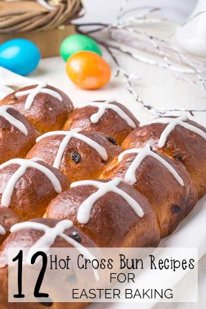 A Dozen delicious Hot Cross Bun Recipes that can't be missed, these mouth watering recipes will be a delicious treat on Easter Morning.