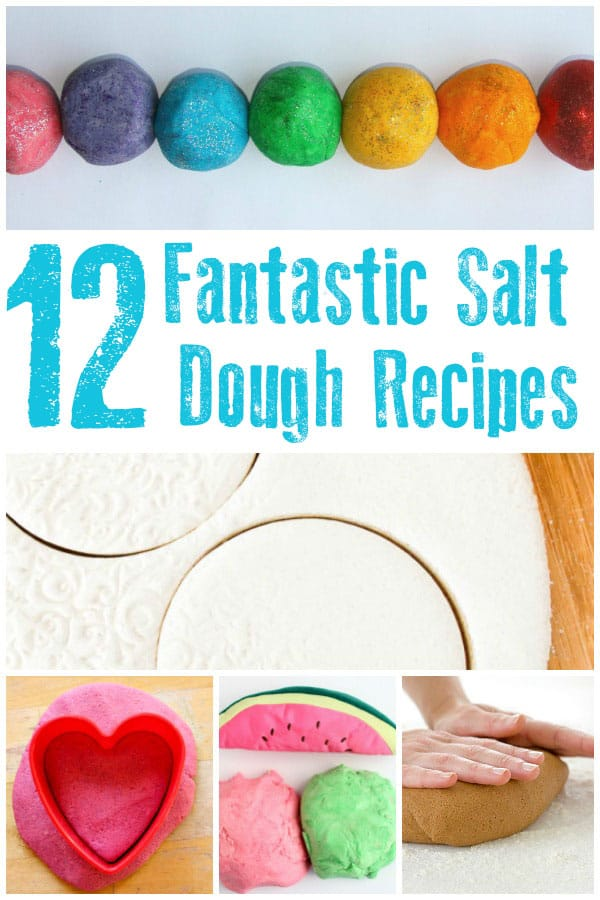 Fantastic salt dough recipes including, a classic recipe, microwave, colored recipes and scented salt dough through the seasons there are so many to try