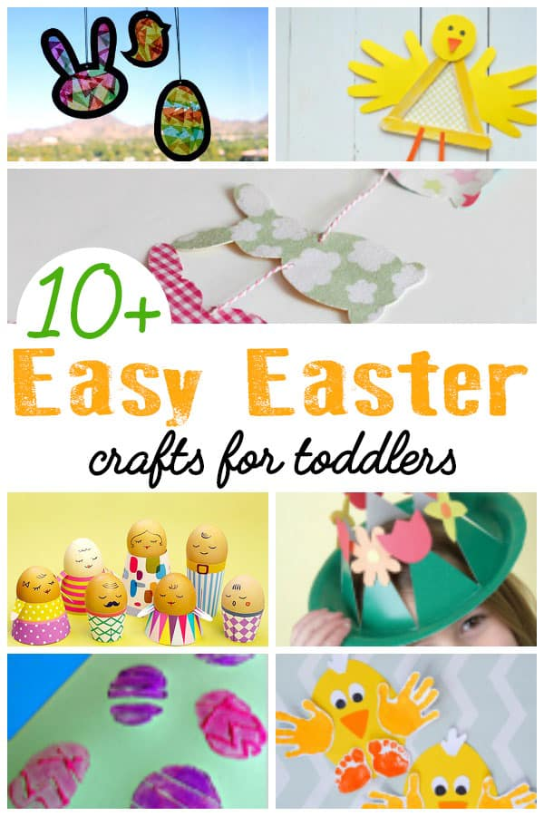 Easy Easter Crafts For Toddlers That You Can Do Together