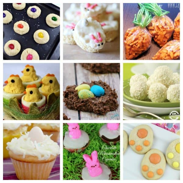 Get cooking with your toddlers and preschoolers this Easter and make these delicious snacks and treats that everyone can enjoy.