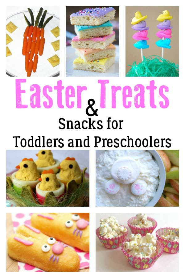 Delicious Easter Treats and Snacks for Toddlers and Preschoolers