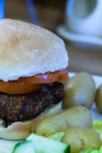 Try this easy to make bread machine hamburger bun recipe next time you grill and be amazed at these soft fluffy rolls that are as easy as 123!