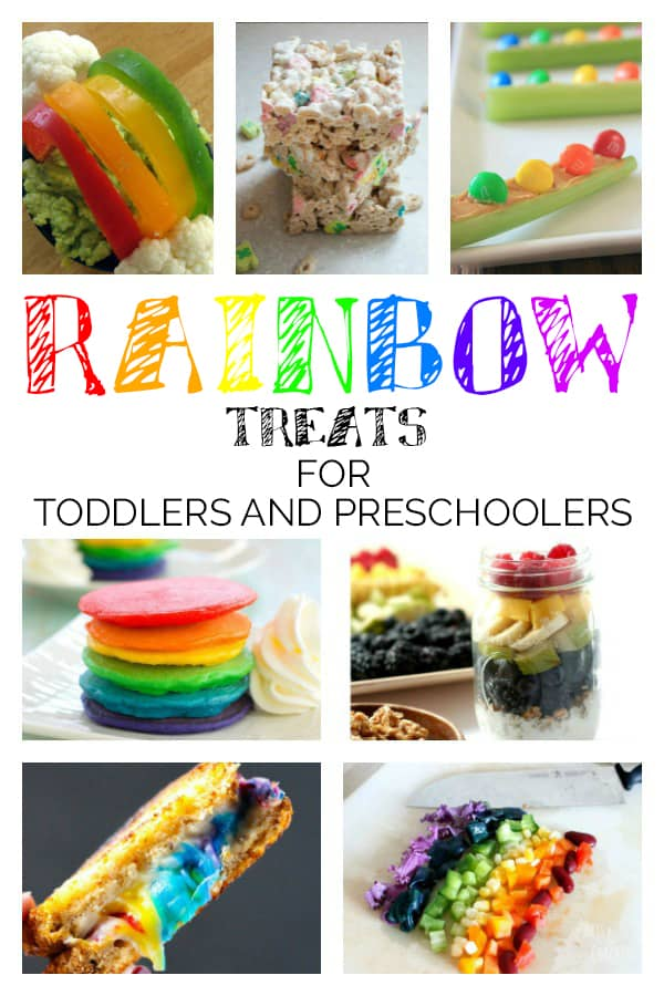 Rainbow Treats for Toddlers and Preschoolers