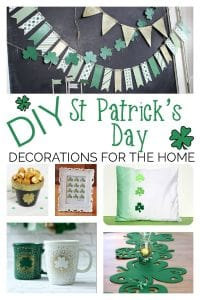 Get crafty and decorate your home with these easy and frugal DIY St Patrick's Day decorations that will make you feel ever so lucky!