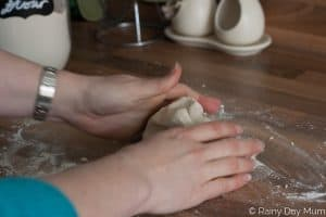 Kid Approved classic Salt Dough Recipe that is in grammes and oz perfect for rainy day activities and works every time.