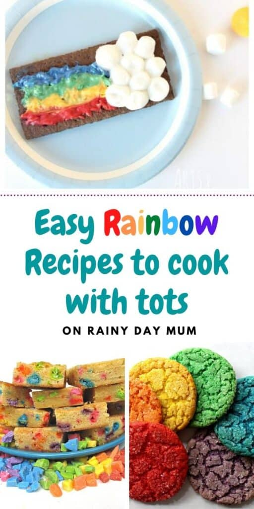 easy rainbow recipes to cook with tots