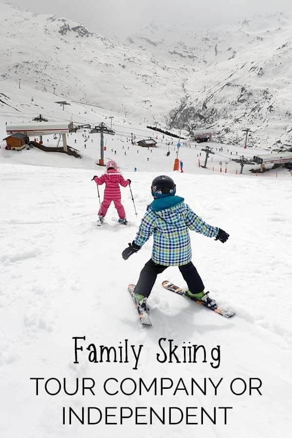When you book your next family ski trip do you go with a tour company or book independently. Find out the pros and cons of both and make an informed choice.