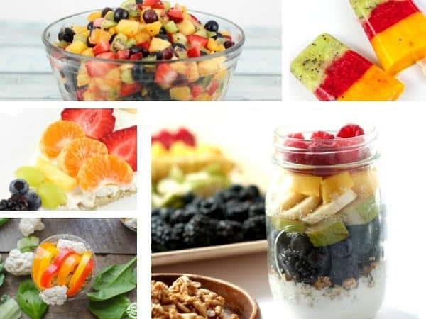 healthy rainbow recipes for toddlers and preschoolers to cook