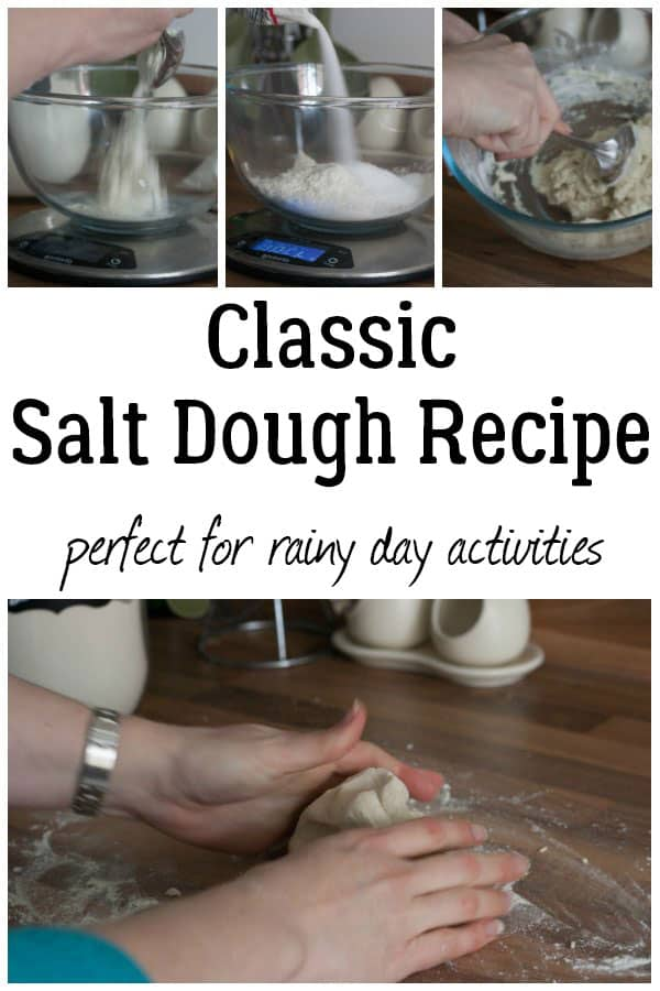 Classic Salt Dough Recipe Perfect For Rainy Day Activities