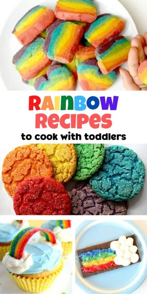 rainbow recipes to cook with toddlers