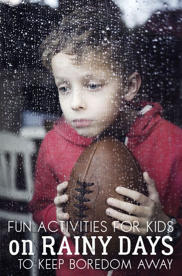 Fun Rainy Day Activities for Kids