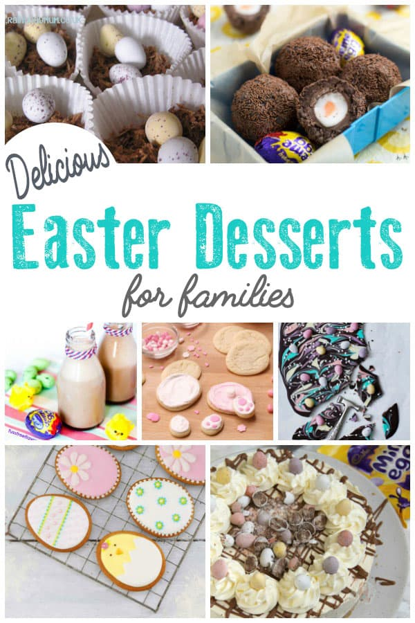 Don't miss Easter desserts for family celebrations