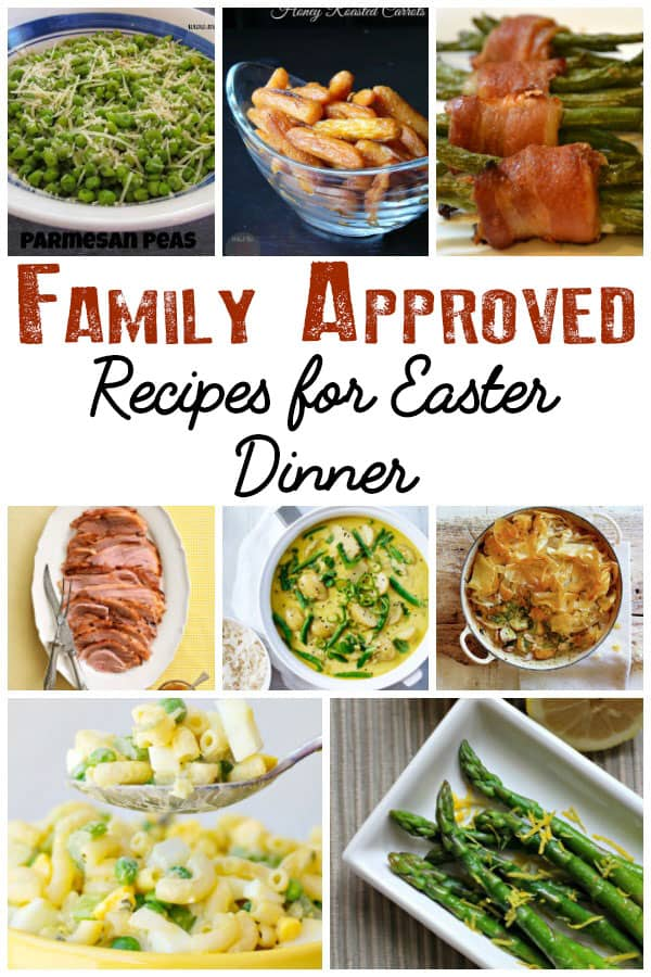 Kid approved meal plan for your Easter Weekend menu that families can enjoy together