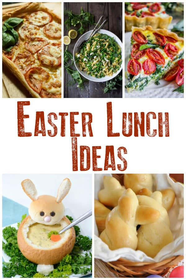 Celebrate Easter with these easy Easter Lunch Ideas, perfect for families