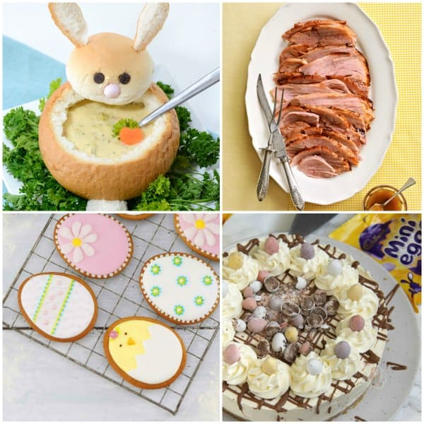 Family approved Easter Recipes to help you meal plan for your celebrations, including breakfast, lunch, dinner and dessert.