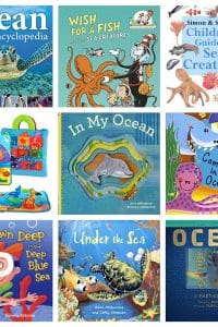 Explore under the sea with your toddlers and preschoolers as a marine biologist and teachers shares her favourite ocean books to read together.