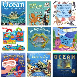 Ocean Books for Toddlers and Preschoolers