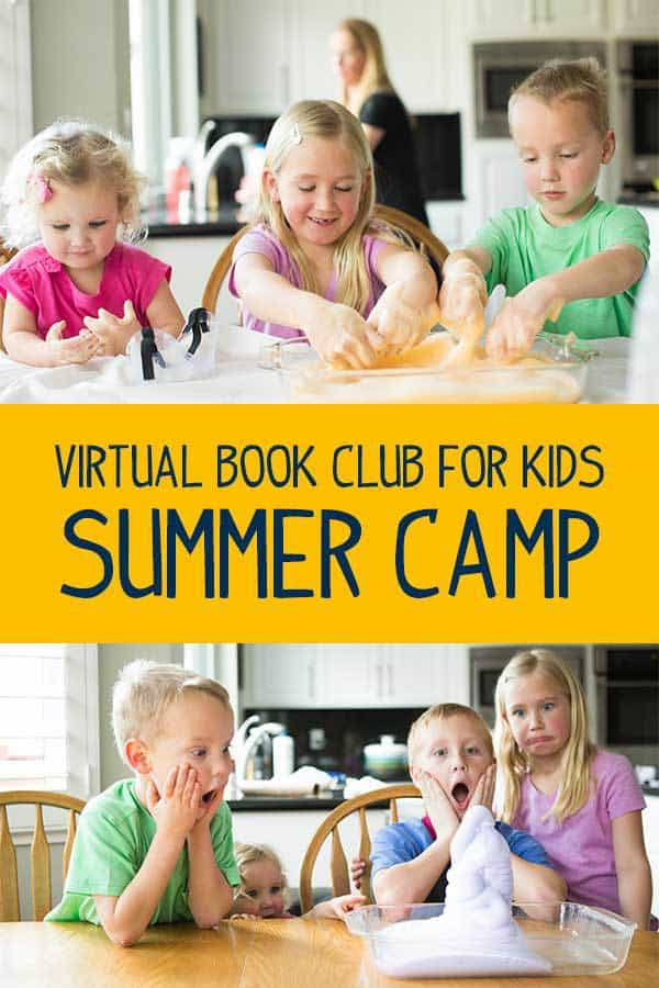 Have an Awesome Summer with our Virtual Book Club for Kids Summer Camp