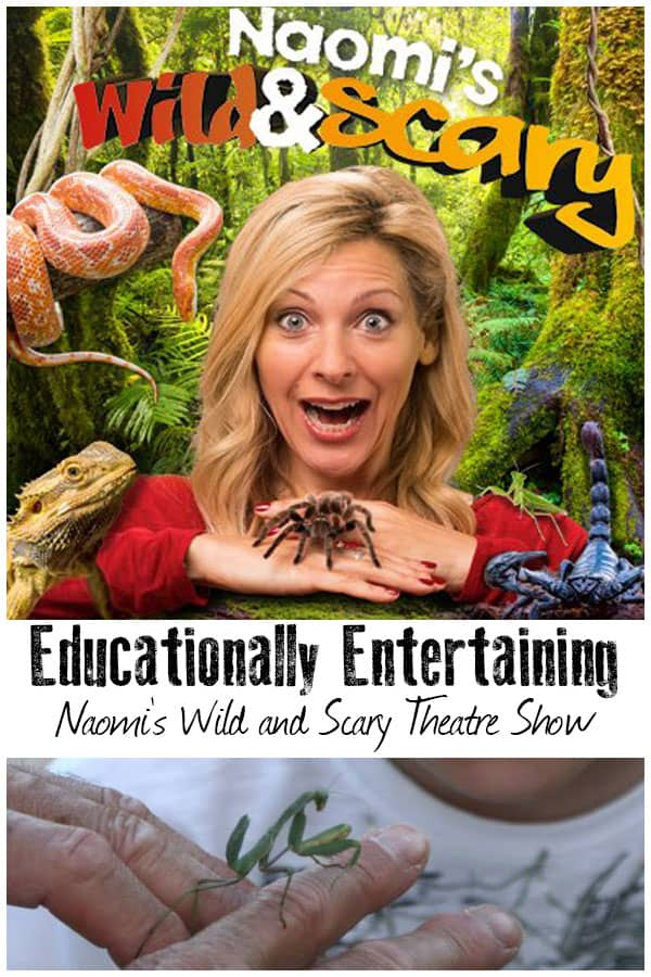 Naomi's Wild and Scary Show – Family Entertainment that Sends a Message