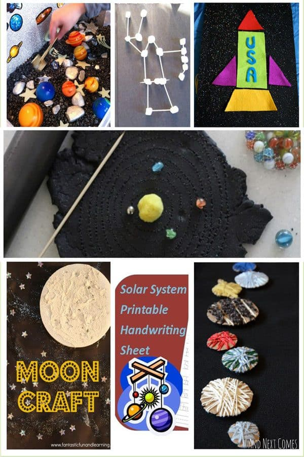Out Of This World Space Activities For Toddlers