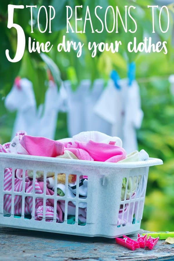 5 Top Reasons you Should be Line Drying your Clothes