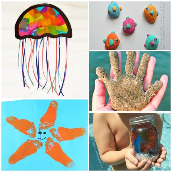 Fun Summer Beach Themed Crafts for Kids