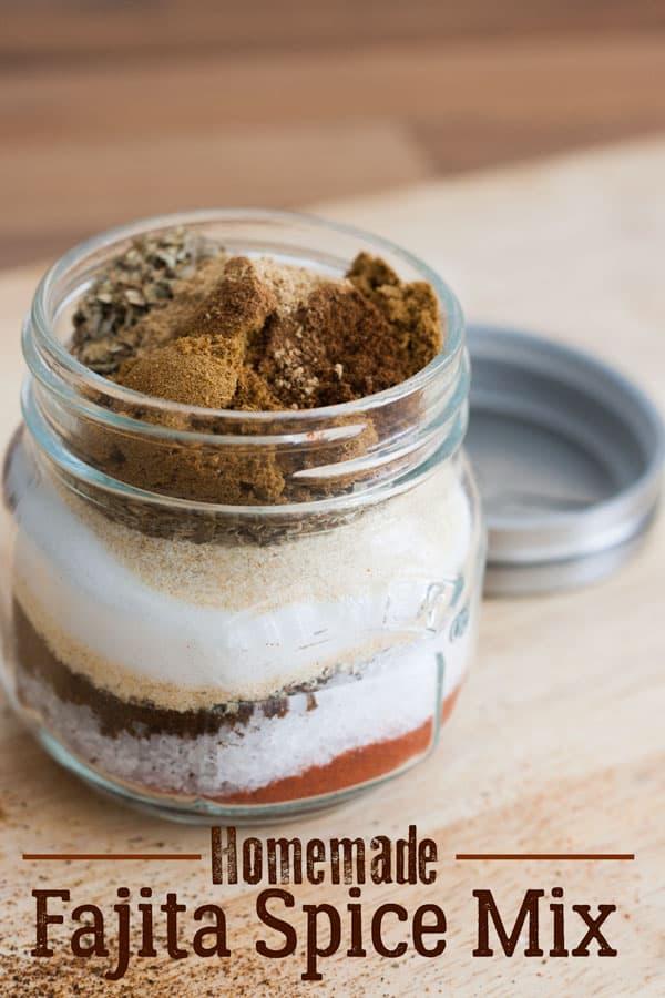 Homemade Fajita Spice Mix
