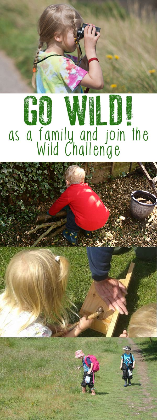 Experience and learn about nature with Wild Challenges from the RSPB as you and your family work together to complete the challenges set!