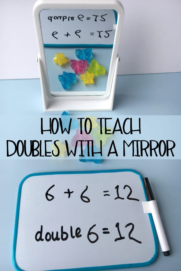 How to teach doubles with a mirror