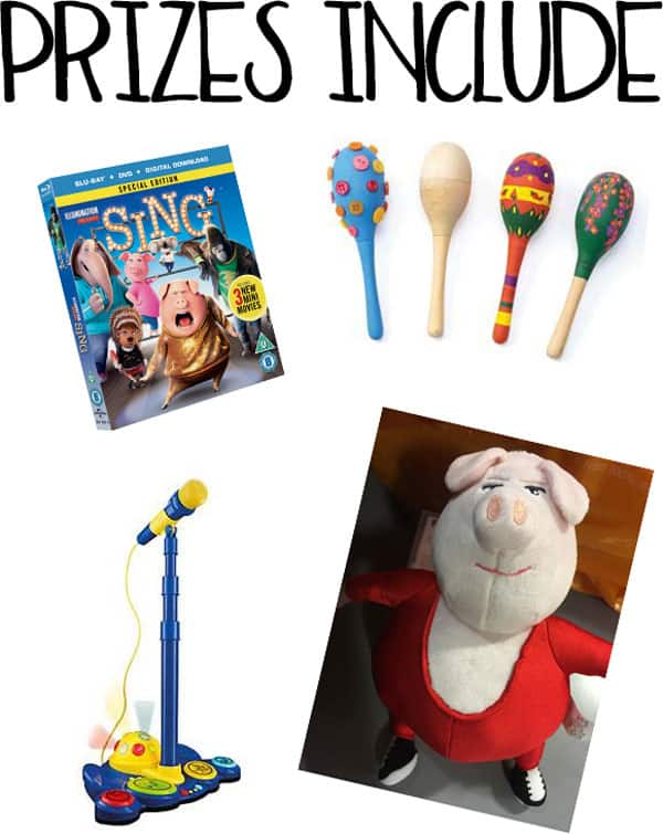 Win Double with SING and Universal Pictures (UK) in this fantastic rainy day boredom buster pack