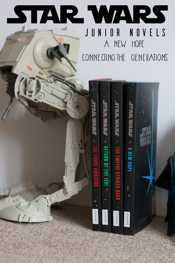 New junior Star Wars novels inspiring reading and connecting the generations as we celebrate the 40th Anniversary of A New Hope.