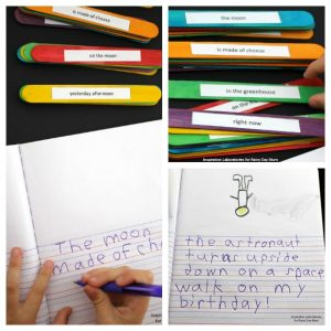 silly space sentences creative writing activity for kids