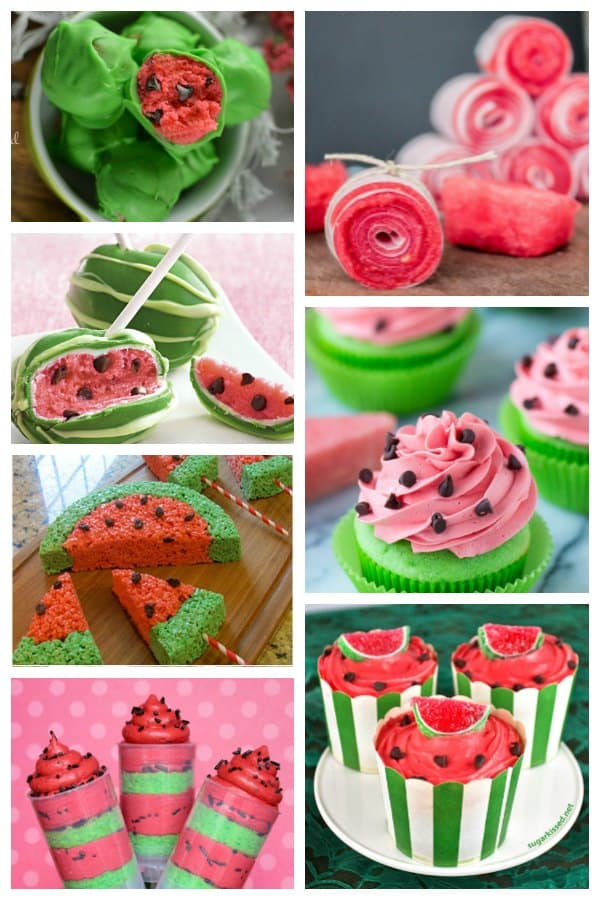 Flavoured like Watermelon, inspired by Watermelon these cakes are ideal for summer parties and treats to bake and eat.