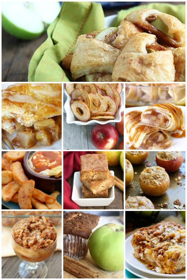 Delicious recipes for desserts, snacks and treats using apples perfect for family suppers and entertaining all year round.