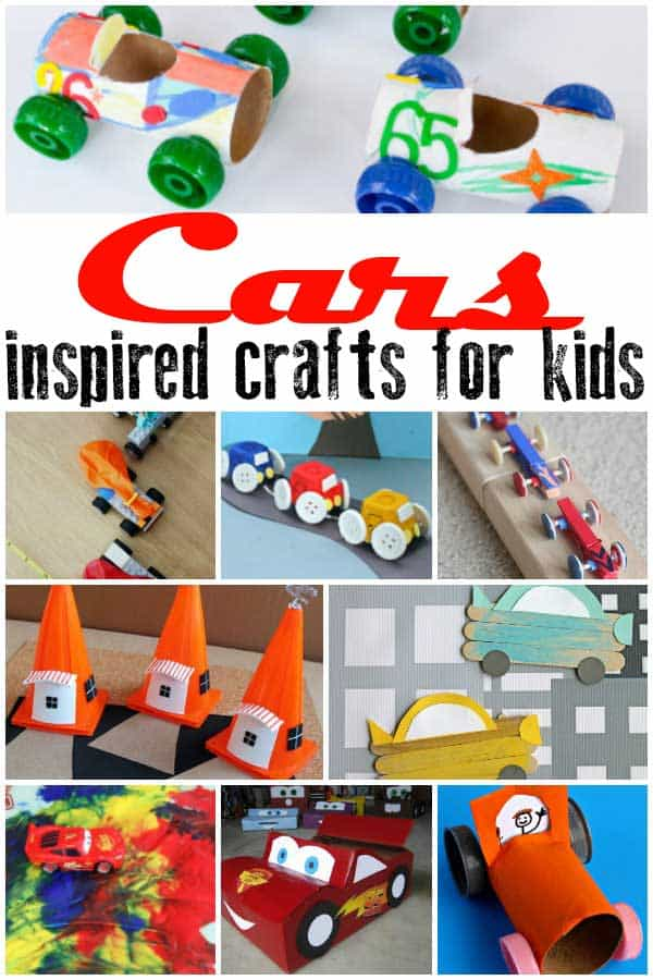 Cars Crafts for Kids