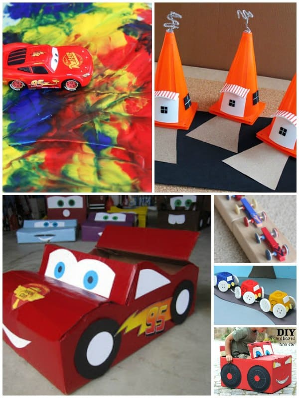 Cars Themed Crafts For Kids