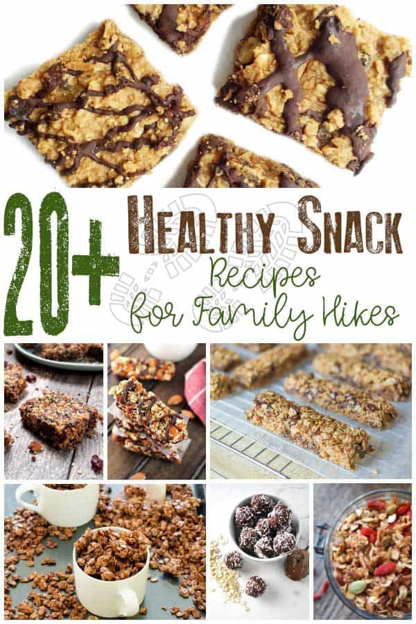 20+ Healthy Snack Recipes for Family Hikes