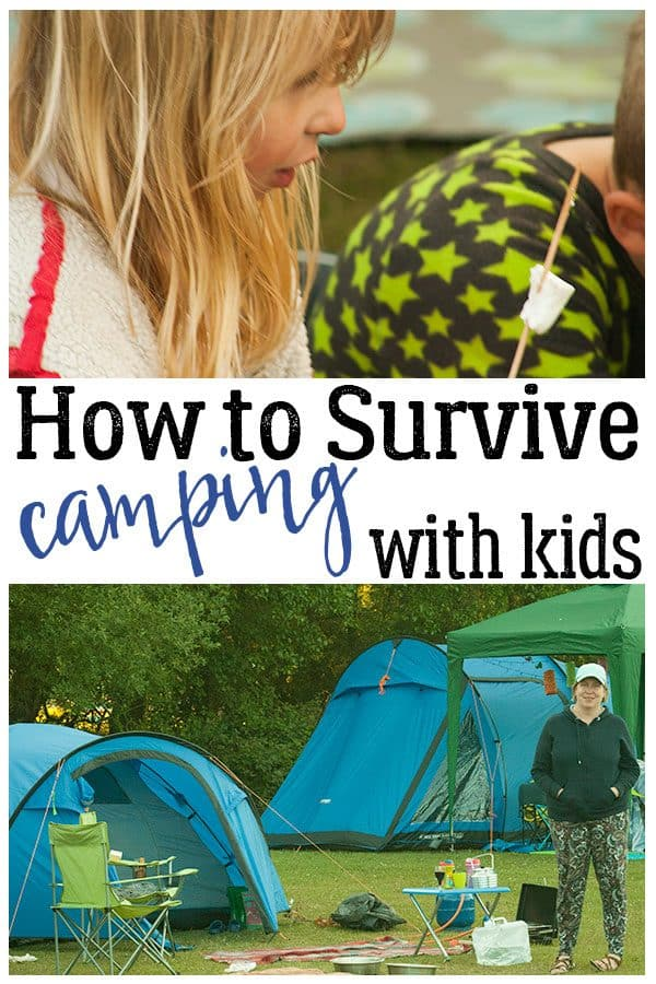 How to Survive Camping with Kids!