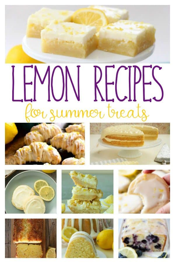 Best Sweet Lemon Recipes for Summer
