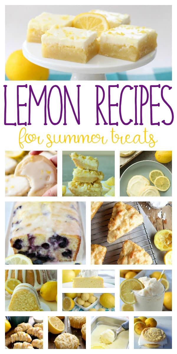 Satisfy your sweet tooth with these delicious lemon recipes ideal for summer baking and sharing with friends and family.