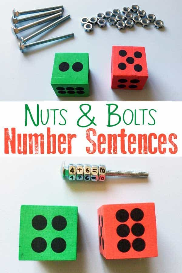 Nuts and Bolts Number Sentences