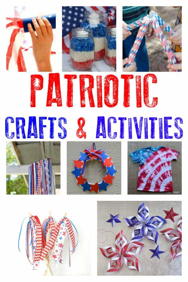 Fun And Easy Patriotic Crafts And Activities For Kids